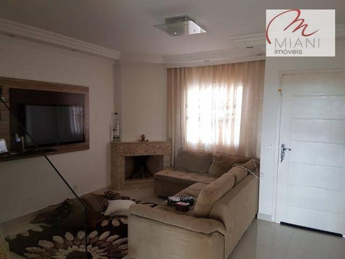 Sobrado Com 3 Dormitórios À Venda, 120 M² Por R$ 636.000,00 - Paisagem Renoir - Cotia/sp - So1122