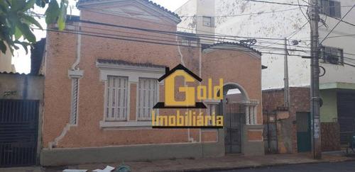 Casa Com 3 Dormitórios À Venda, 123 M² Por R$ 230.000 - Centro - Ribeirão Preto/sp - Ca0747