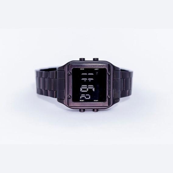 Relógio Euro Preto Feminino
