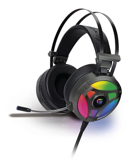 Fone De Ouvido Headset Gamer Fortrek G Pro Led Rgb H1 Usb P2