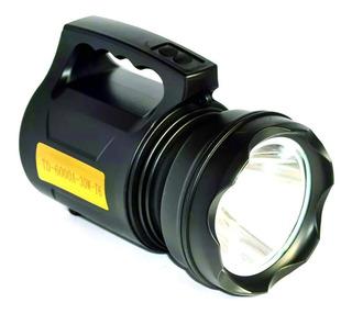 Lanterna Led Holofote T6 Recarregável 30w Alta Potência