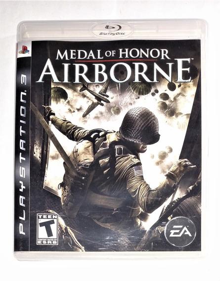 Medal Of Honor Airborne Original Completo Midia Fisica Ps3