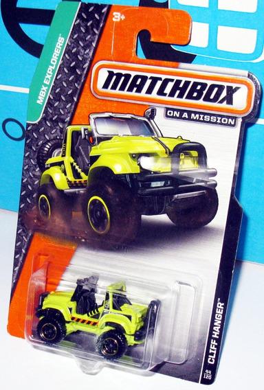 Cliff Hanger Mbx Explorers Esc 1/64 Aprox Matchbox