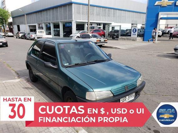 Peugeot 106 Xn 1995 Verde 3 Puertas