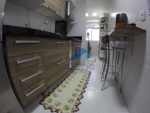 Imagem 1 de 14 de Apartamento Com 2 Dormitórios À Venda, 69 M² Por R$ 250.000,00 - Cidade Morumbi - São José Dos Campos/sp - Ap7559