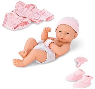 Liberty Imports Baby Girl Recien Nacido Con Ropa Y Accesorio
