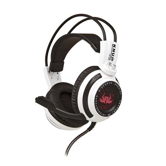 Headset Gamer 7.1 Led Usb Fone E Microfone Kp-400 Barato