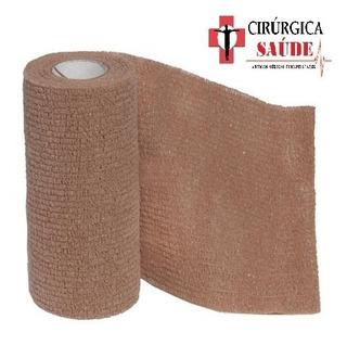 Bandagem Elástica Autoadesiva Tipo Cobam 5cm X 4,5m - 2unids