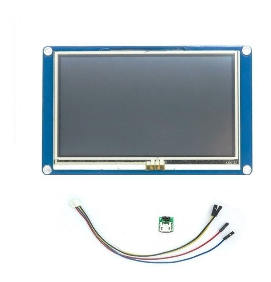 Tela Lcd Nextion 4.3 Ihm Led Touch Arduino Pic Clp (4005)