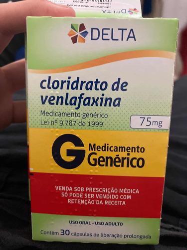 Ansiedade Cloridrato De Venlafaxina