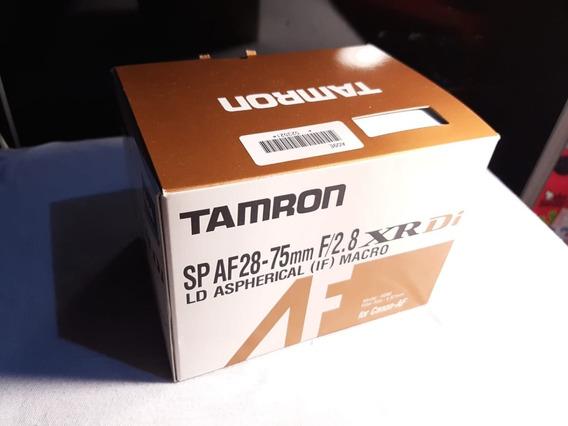 Lente Tamron 28-75 F2.8 Canon Ef Full Frame