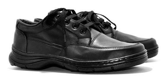 Zapato Acordonado De Cuero - Calzados Unión- Art 420