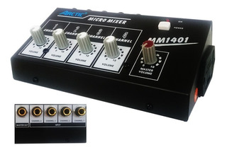 Mini Mezclador 4 Canales Arctic Mixer Mm1401 73923/ Fernapet
