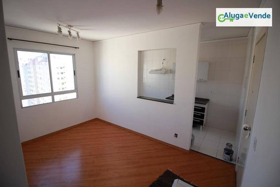 Apartamento Com 2 Dormitórios À Venda No Condomínio Unico Guarulhos, 45 M² Por R$ 230.000 - Ponte Grande - Guarulhos/sp - Ap0041