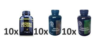 10 Arginina E Alanina 10 Maca Peruana 10 Tribulus Terrestris