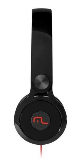 Fone De Ouvido Headphone Multilaser Ph081 Preto Nfe