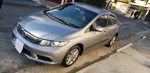 Imagem 1 de 13 de Honda Civic 2013 1.8 Lxs Flex Aut. 4p