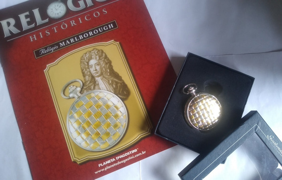 Coleção De Relógio Histórico- Marlborough (relógio De Bolso)