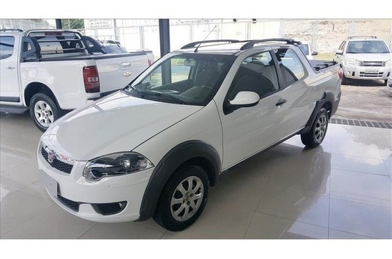 Fiat Strada Trekking 1.6 16v Cd Branco Flex 2p Manual 2015