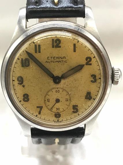 Relógio Eterna Bumper Militar Cal 834 De 1943 Relogiodovovô.