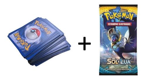 Lote De Cartas Pokemon, 50 Cards