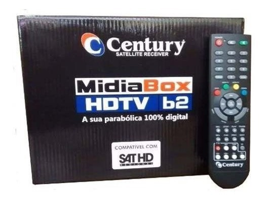 Receptor Midia Box B2 Hd Tv Century