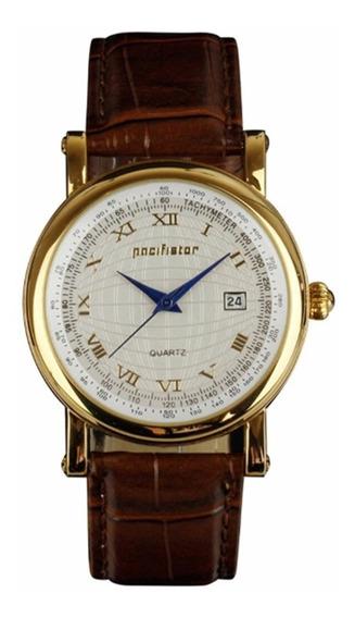 Relógio Masculino Pacifistor A Quartzo Diam. Dial 40,0 Mm