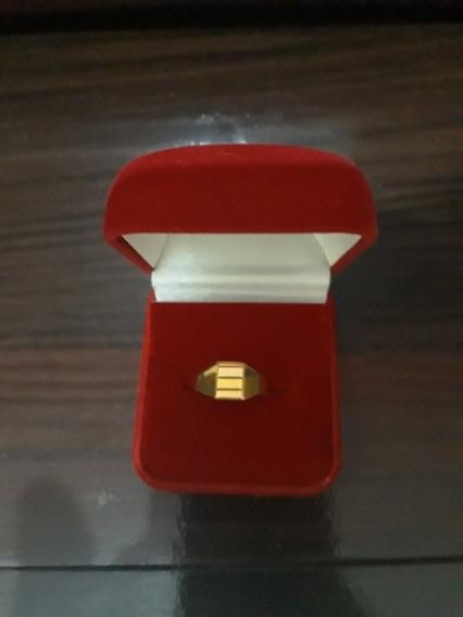 Anel Masculino Ouro 18k 750
