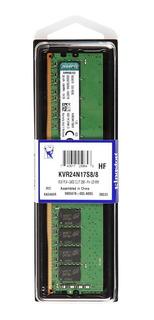 Memoria RAM 8GB 1x8GB Kingston KVR24N17S8/8