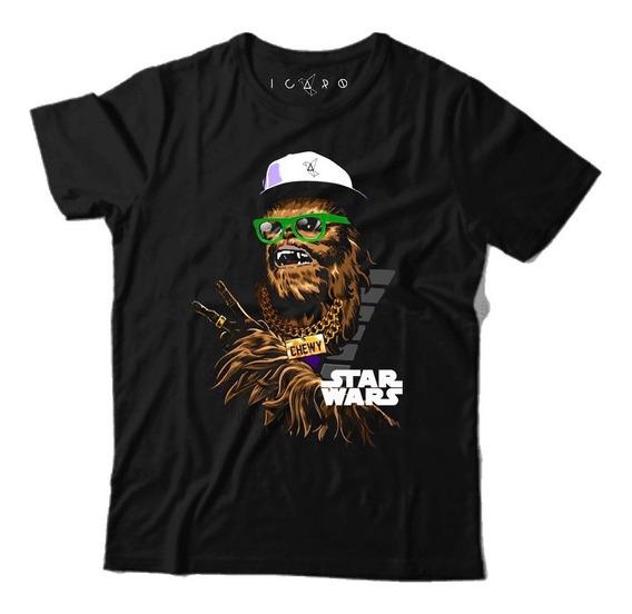 Remera Star Wars Yoda Algodón Premium Local Almagro