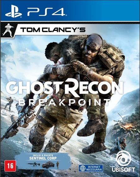 Ghost Recon Breakpoint Ps4 Mídia Física Novo Em Português
