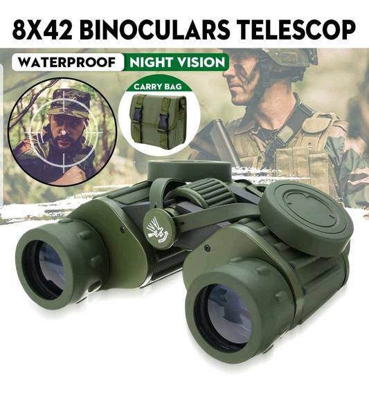Telescópio Binóculos Poderoso Militar 8x42