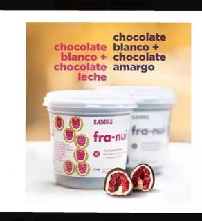 Franui Frambuesas Cubiertas De Chocolate Con Leche. Fra Nui