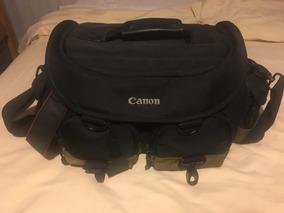 Canon 70d+lente 18-250mm+flash 600ex Rt+acessórios Original.