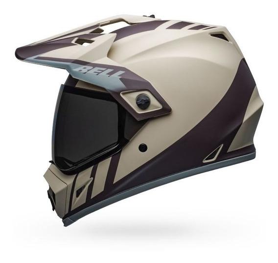 Capacete Bell Mx-9 Adventure Dash Sand Bigtrail