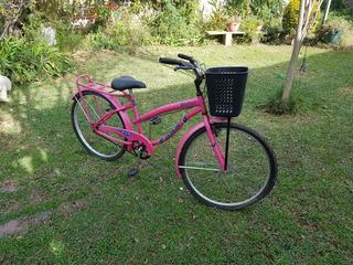 Bicicleta Mujer Poco Uso Rodado 26