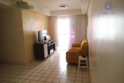 Apartamento Residencial À Venda, Costa Azul, Salvador. - Ap0674