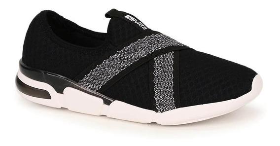 Tênis Casual Com Lycra Actvitta Knit | Gaby Calçados