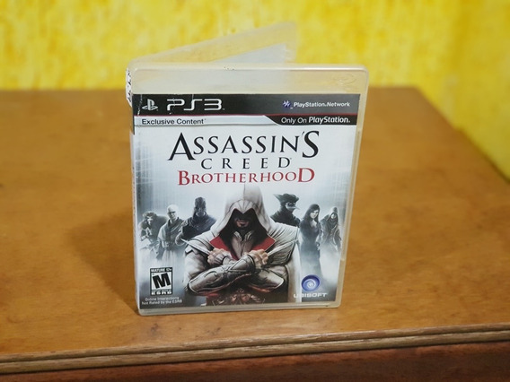 Assassins Creed Brotherhood Usado Ps3 Mídia Física