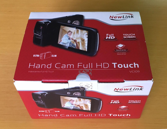 Filmadora Newlink Ultra Slim Full Hd Touch Vc109