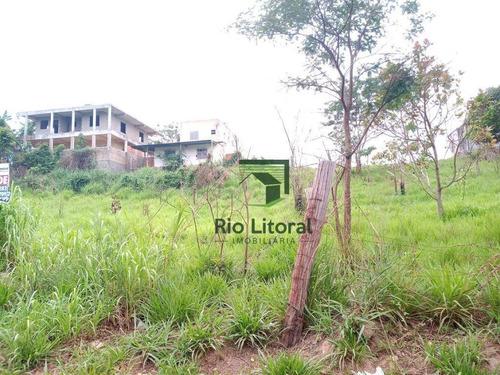 Terreno À Venda, 366 M² Por R$ 75.000,00 - Mar Do Norte - Rio Das Ostras/rj - Te0225