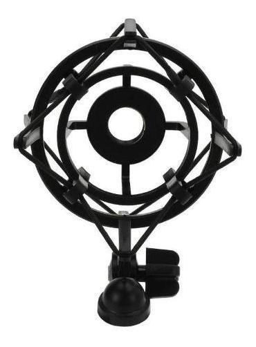 Suporte Aranha Shock Mount Para Microfone Condensador 68 Mm