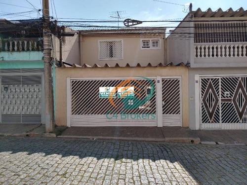 Sobrado Com 3 Dormitórios À Venda, 182 M² Por R$ 560.000,00 - Vila Camargos - Guarulhos/sp - So0725