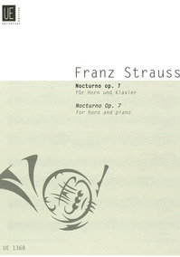 Franz Strauss : Noturno (trompa, Piano) Universal Publishing