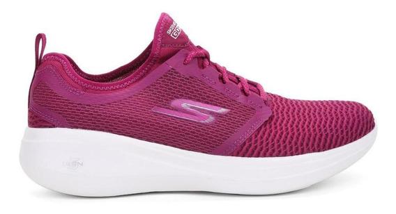 Tenis Skechers Go Run Fast Feminino 15100-pnk