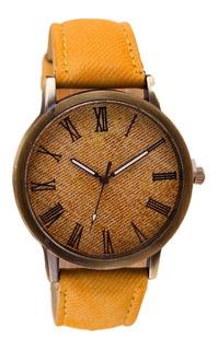 Reloj Vintage Reloj Tipo Jean Viajero Reloj Hombres Mujeres