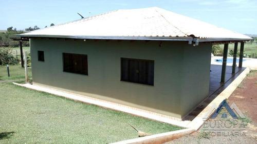 Chácara Com 3 Dormitórios À Venda, 1700 M² Por R$ 350.000,00 - Centro - Alvorada Do Sul/pr - Ch0081