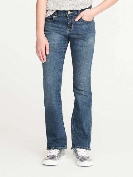 Jean Old Navy Niña Oxford Talle 10 - 6045