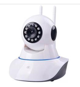 Câmera Ip Noturna Hd Wifi Wireless Segurança Residência Casa