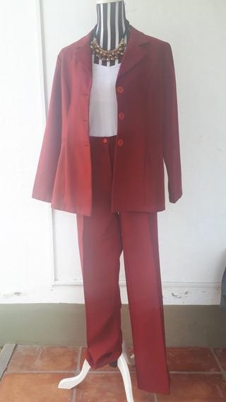 Traje, Mujer, Chaqueta Y Pantalón, Medio Tiempo, Zona Sur.